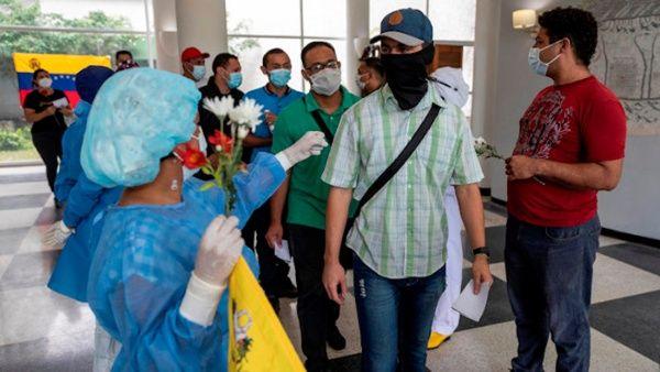 La vicepresidenta instó a los venezolanos a respetar las medidas de bioseguridad para combatir la pandemia de la Covid-19.