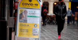 El registro de cero muertes provocadas por la Covid-19 en diversas regiones del Reino Unido no ocurría desde julio de 2020.
