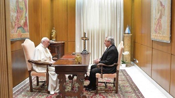 La agenda de la visita al Vaticano incorporó una reunión de 30 minutos entre el papa Francisco y el presidente argentino Alberto Fernández.