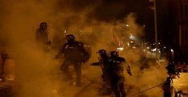 Las dos últimas noches fueron quizás las más violentas de las 17 jornadas de movilizaciones contra las políticas económicas de Duque.