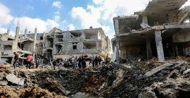 La violenta arremetida israelí en Gaza tiene como objetivo blancos civiles.