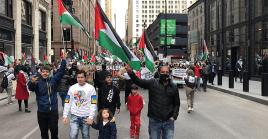 El epicentro de las concentraciones en Alemania se presentaron en Berlín, centenares de ciudadanos rechazaron las políticas bélicas de Israel.