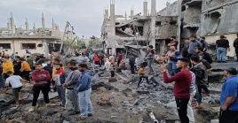 Desde el lunes pasado, el régimen sionista no ha cesado de lanzar ataques contra zonas urbanas de Gaza.