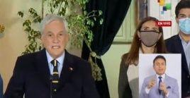 Presidente Piñera reconoce la derrota en las elecciones para los representantes de la Convención constituyente, gobernadores, alcaldes y concejales.