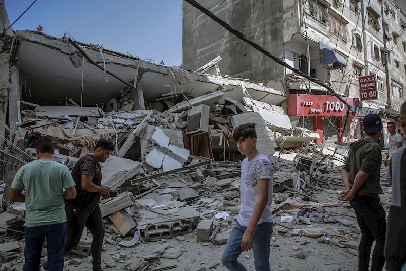 Una investigación del medio árabe afectado, revela que Israel ha utilizado en sus ataques contra el pueblo de Gaza, bombas estadounidenses altamente explosivas y destructivas para derrumbar edificaciones objetivos en Palestina.