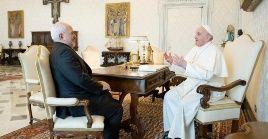 El tema del diálogo interreligioso y las sanciones de Estados Unidos sobre Irán también completaron la agenda del encuentro.