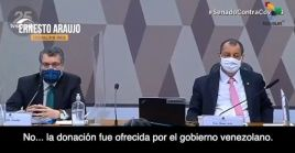 """El legislador Aziz denunció que """"en el tiempo para llevar ese oxígeno de Venezuela a Manaos (por carretera) murió mucha gente""""."""