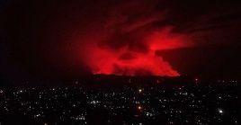 Medios locales informaron que tras la erupción delmonte Nyiragongo, la ciudad de Goma quedó sin servicios públicos.