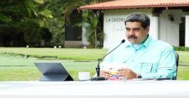 """El mandatario venezolano afirmó que en los próximos meses habrá una """"vacunación masiva""""."""