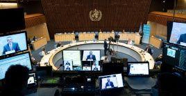 Los representantes de Salud de Venezuela, Cuba y México se prenunciaron este martes de manera virtual ante el cónclave