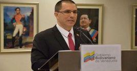 La Cancillería enfatizó que la comunidad internacional conoce la lucha de Venezuela para el reconocimiento del territorio deGuayanaEsequiba.