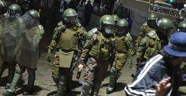 Rodrigo Rojas Vade fue aprehendido por funcionarios de Carabineros en la tarde del viernes en el centro de la capital chilena.