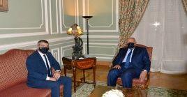 """""""Egipto es un importante aliado regional"""", señaló el canciller Gabi Ashkenazi"""