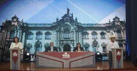 Castillo y Fujimori debatensobre seis puntos entre los que se encuentran el plan de gobierno, la pandemia y lucha contra la corrupción.
