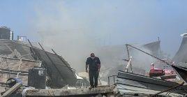 Palestina confirmó 232 fallecidos tras ataques de Israel en la Franja de Gaza durante 11 días antes el alto el fuego.