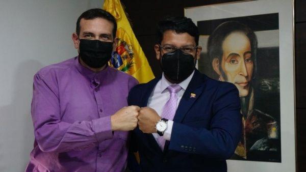 La reunión fue presidida por el vicecanciller venezolano Rander Peña y el embajador de Bolivia en Caracas, Sebastián Michel.