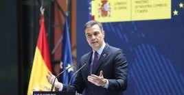 El presidente del Gobierno español dio a conocer el donativo en el marco de la cumbre del Foro de Acceso Global para Vacunas Covid-19 (Covax)