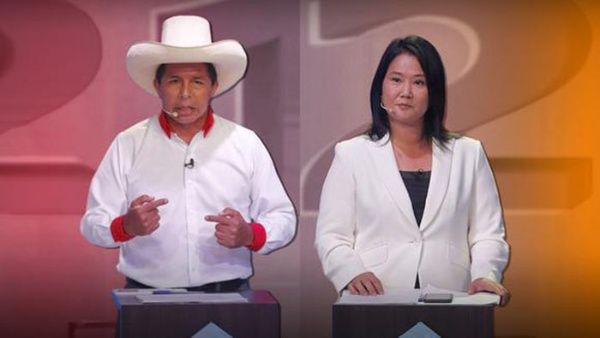 De acuerdo a Ipsos, Keiko Fujimori obtiene el 50.3 por ciento de los votos y Castillo 49.7 puntos porcentuales.