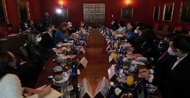 Representantes del organismo internacional se reunió con delegados del Gobierno colombiano en Bogotá.