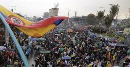 Desde el 28 de abril se vienen llevando a cabo movilizaciones en las principales ciudades del país contra el presidente Duque.
