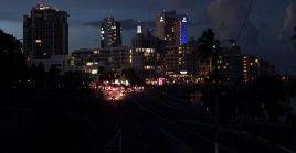 El siniestro mantuvo a oscuras a gran parte de Puerto Rico.
