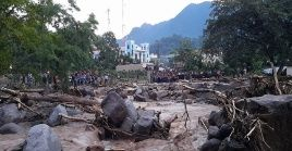 La Conred se mantiene en alerta por las lluvias que afectan gran parte de Guatemala.