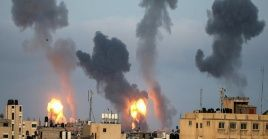 Los ataques aéreos contra Gaza realizados en mayo pasado dejaron un saldo de más de 200 fallecidos palestinos.