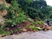 Numeros derrumbes, de acuerdo al organismo de defensa civil guatemalteco, han dejado las lluvias sin que hayan atravesado todavía ningún huracán por su territorio.