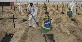 Brasil registra casi 500.000 muertes por la Covid-19 desde el inicio de la pandemia en la nación suramericana, la segunda cifra más alta del mundo.