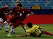 En la segunda fecha del Grupo B, Venezuela igualó 0-0 ante la selección colombiana.