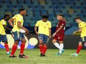 Colombia se enfrentará a Perú tras el empate a cero que obtuvo con Venezuela.