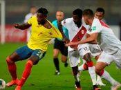 Perú y Colombia vuelven a verse la cara apenas a dos semanas de haberse enfrentado en Lima por la fecha 7 de lasrondas clasificatorias a Catar 2022.