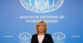 """El embajador de Rusia en EE.UU. dijo: """"Es triste vera Washington seguirun camino que no lleva a ningún resultado positivo""""."""