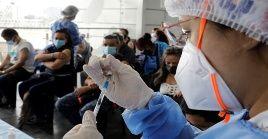Desde principios de abril, las autoridades sanitarias advirtieron de un repunte de la pandemia en el país suramericano.
