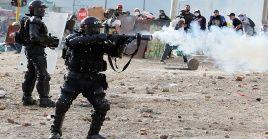 Testigos indicaron que el Esmad disparó una granada de gas lacrimógeno directamente hacia el tórax de Jaime.