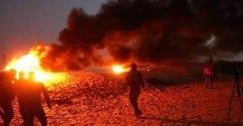El barrio de Sheikh Jarrahse vio expuesto a incendios provocados por colonos israelíes fundamentalistas.