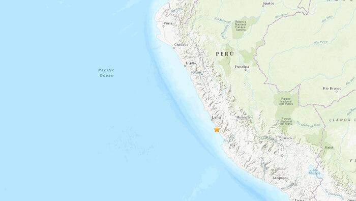 Sismo de magnitud 6.0 sacude la capital y costa central peruana