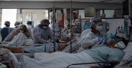 Brasil acumula 18.054.653 de casos confirmados y 504.717 fallecidos desde que se registró el primer caso de coronavirus en el país.