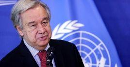 """El secretario general de la ONU, Antonio Guterres puntualizó que los impuestos también deben recaer sobre quienes """"se han beneficiado de la pandemia""""."""