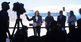 Harris hizo el viaje tras meses de críticas de los republicanos y de algunos miembros de su propio partido por su ausencia y la del presidente Joe Biden en la frontera.
