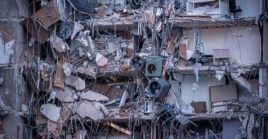 """El edificio parcialmente derrumbado este jueves en Sufside mostraba en 2018 daños estructurales """"importantes""""."""