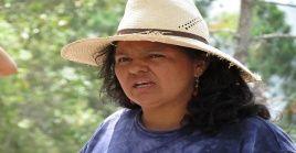 """""""El asesinato de Berta Cáceres es un caso emblemático"""", expresó la carta enviada por integrantes del Senado de EE.UU."""