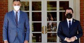 Ambos dignatarios coincidieron en la búsqueda de soluciones pacíficas para las diferencias existentes.