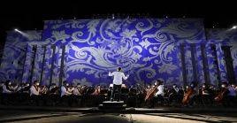 Lagala contó con un concierto de la Orquesta Sinfónica del país, así como una representación teatral de la batalla.