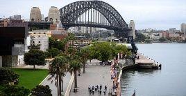 La ciudad de Sydney se encuentra en confinamiento hasta el 9 de julio, debido al brote vinculado en su gran mayoría a la variante Delta.