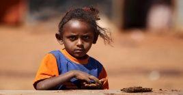 Según la ONU, hay 33.000 niños desnutridos en la región etíope en conflicto.