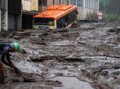 Según el alcalde de la ciudad de Atami, golpeada por las lluvias en Japón, más de 1.500 se encuentran realizando labores de búsqueda y rescate de los desaparecidos.