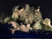 Los restos del edificio Champlain Towers South fueron demolidos mediante una explosión.