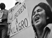 La jornada de lucha por la liberación de Milagro Sala enarbola que lleva detenida 2.000 días.