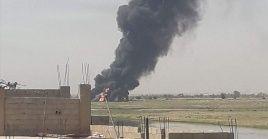 Los militares estadounidenses se movilizaron tras la acción, en tanto helicópteros y aviones de reconocimiento sobrevolaron intensamente la zona.